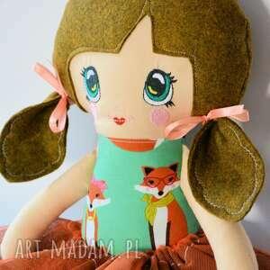 lalka lalki turkusowe lala animka - lusia 43 cm