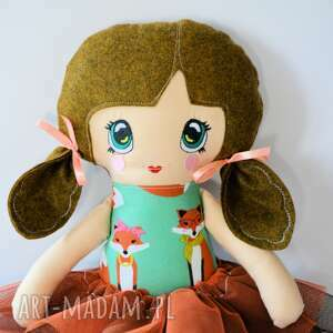 unikatowe lalki lalka lala animka - lusia 43 cm