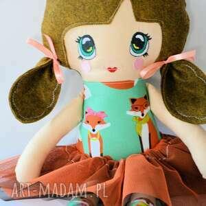 kolorowe lalki animka lala - lusia 43 cm