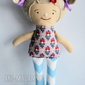 lalka lalki fioletowe lala fruzia - paula - 25