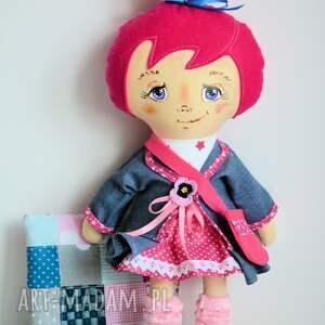 niebanalne lalki malowana lala jadzia słodka modelka