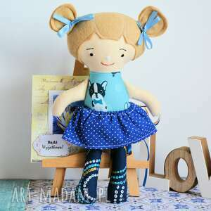 niebieskie bezpieczna lala monia 25