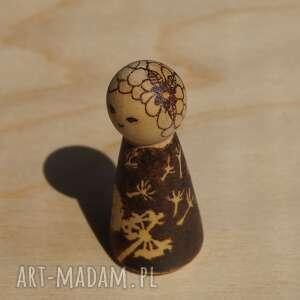 handmade lalki wypalanie laleczka babie lato - ręcznie
