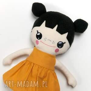 beżowe lalki laleczka bawełniana