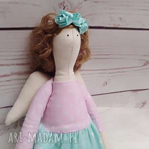 hand made lalki lalka anioł tilda
