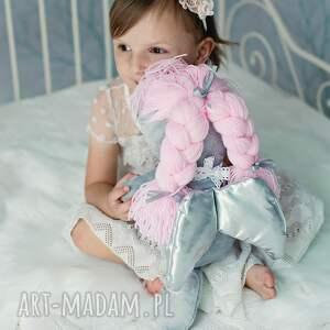 różowe lalki lalka aniołek