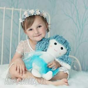ręczne wykonanie lalki lalka-szmacianka lalka aniołek ze skrzydłami