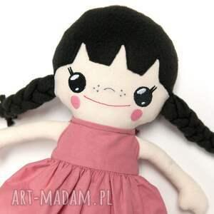 różowe lalki lalka bawełniana poofy cat