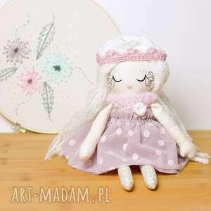 białe lalki prezent lalka celinka