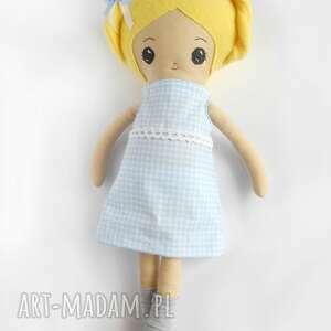 niebieskie lalki lalka eliza - mała artystka