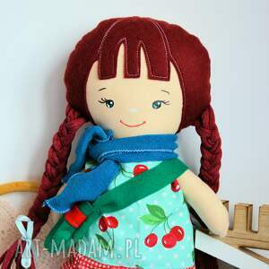 upominki świąteczne turkusowe lalka klemka ubranka - aurora