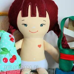 upominki świąteczne zestaw ubranek lalka klemka ubranka - aurora