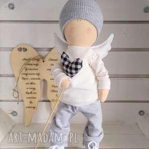 niekonwencjonalne lalki lalka kolekcjonerska anioł pamiątka