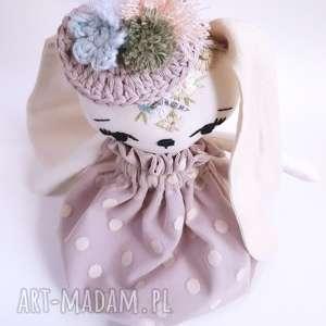 lalki przytulanka lalka królik kalinka