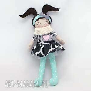 lala lalki białe lalka przytulanka heidi, 43 cm