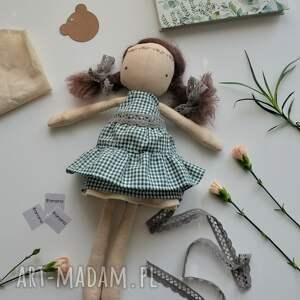 brązowe lalki lalka lalka, przytulanka, szyta ręcznie