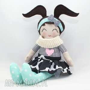 szare lalki przytulanka lalka heidi, 43 cm