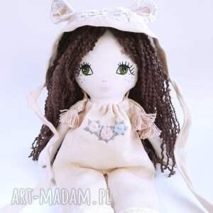 białe lalki bawełna przedstawiam lalkę marysię, słodką laleczkę