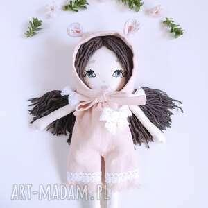 lalki len lalka ręcznie haftowana amelia