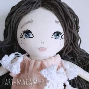 wyjątkowe lalki len lalka ręcznie haftowana amelia