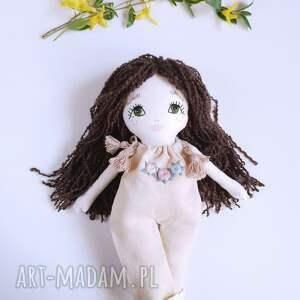 handmade lalki len lalka ręcznie haftowana