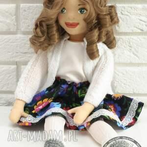 białe lalki rękodzieło lalka ręcznie szyta matylda
