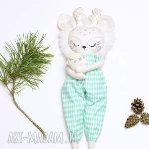 renifer lalki zielone przedstawiam lalkę reniferkę, laleczkę