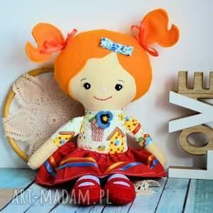 ręczne wykonanie lalki lalka rojberka - słodki łobuziak