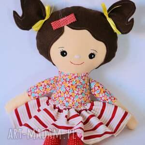 czerwone lalki rojberka lalka - klara 50 cm