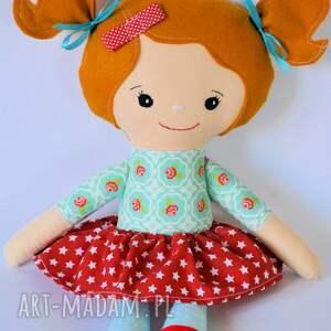 różowe lalki dziewczynka lalka rojberka - ola 50 cm