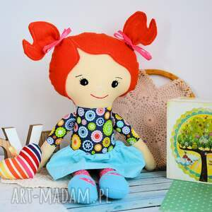 lalka lalki turkusowe rojberka - słodki łobuziak