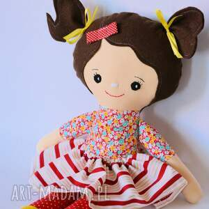 lalka lalki żółte rojberka - klara 50 cm