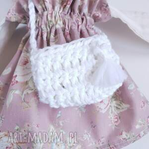 Madika design różowe lalki sowa lalka mirelka
