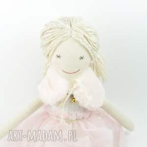 nietuzinkowe lalki dziecko lalka szmaciana helenka w różowej