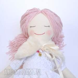 hand made lalki lalka szmaciana ze śpiącymi oczkami