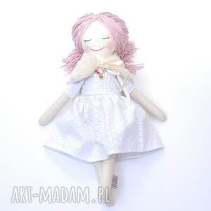 beżowe lalki szmaciana lalka ze śpiącymi oczkami