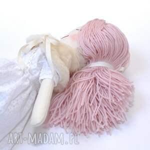 hand made lalki prezent lalka szmaciana ze śpiącymi oczkami