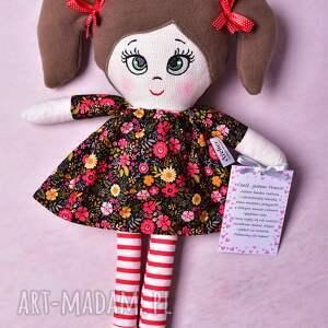 handmade lalki lalka szmacianka frania (opis