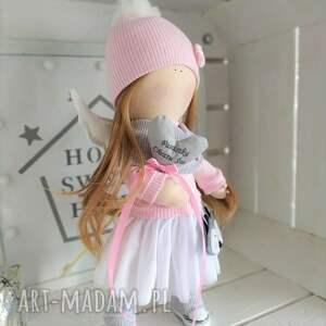 lalki: Lalka szmacianka kolekcjonerska na Chrzest Święty