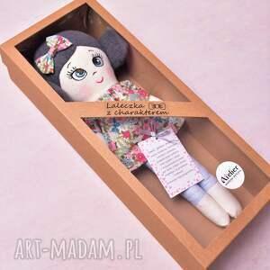 lalki lalka z-charakterem szmacianka aurelia (opis