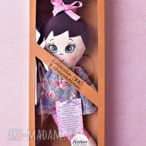 niebieskie lalki lalka szmacianka józefinka (opis