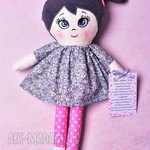 niebieskie lalki lalka szmacianka tosia (opis
