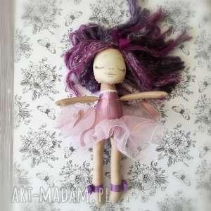 Lalka szyta - Mała Rusałka - szyty dziewczynka
