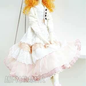 różowe lalki tilda lalka
