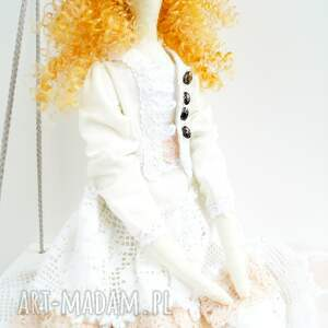 tilda lalki pomarańczowe lalka