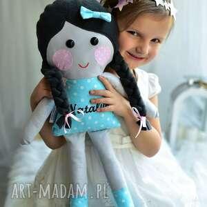 lalka lalki w warkoczach z imieniem