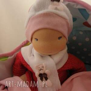 niesztampowe lalki lalka waldorfska niemowlaczek
