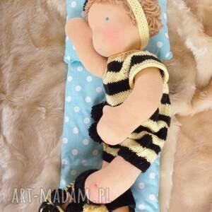 niesztampowe lalki lalka waldorfska maja niemowlaczek