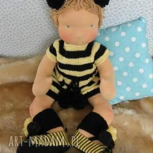 niesztampowe lalki szmacianka lalka waldorfska maja niemowlaczek