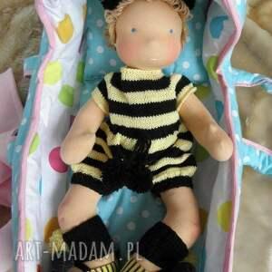lalka lalki żółte waldorfska maja niemowlaczek